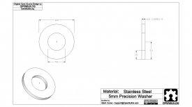Precision Shim – 10x5x1mm