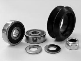 Dual V Wheel Kit – Delrin