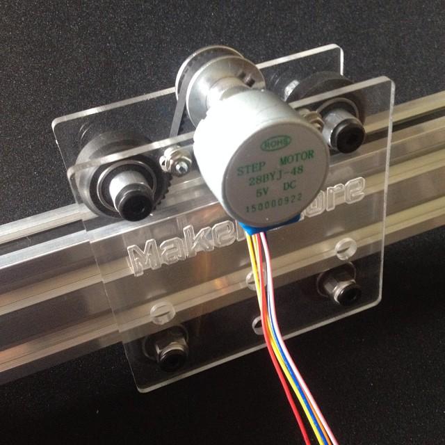 Camera slider plate clear perspex maker store for Stepper motor camera slider