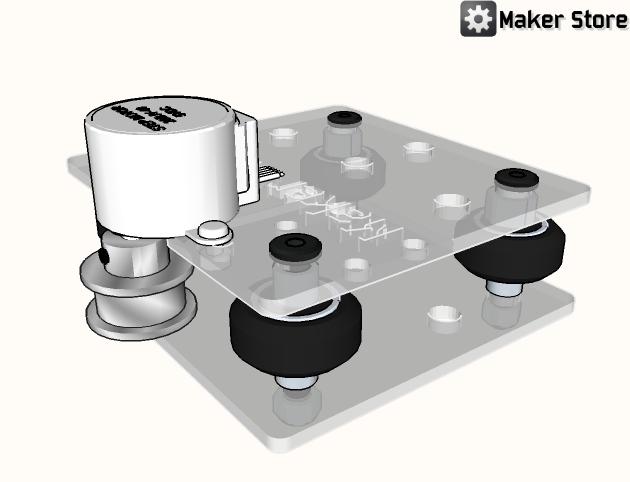 Diy arduino controlled camera slider maker store for Stepper motor camera slider