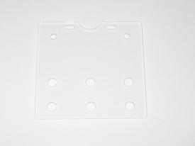 Camera Slider Plate – Clear Perspex