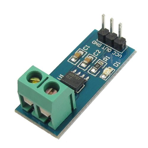 Hall Effect Current Sensor Module for Arduino - 20A ACS712